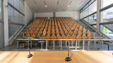 Amphi 3, Pôle Universitaire de Sciences de Gestion ©CPU – Conférences des présidents d'université / Université de Bordeaux