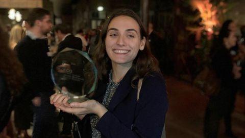 Trophée DFCG 2019 remporté par Marion Galix, étudiante du Master 2 DFCG de l'IAE Bordeaux ©Service communication IAE Bordeaux